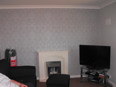 Woodchip wallpaper in the 70's, replaced by painted smooth plastered walls  in the 00's and bold striking prints in the ...